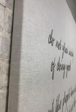 White Linen Panels