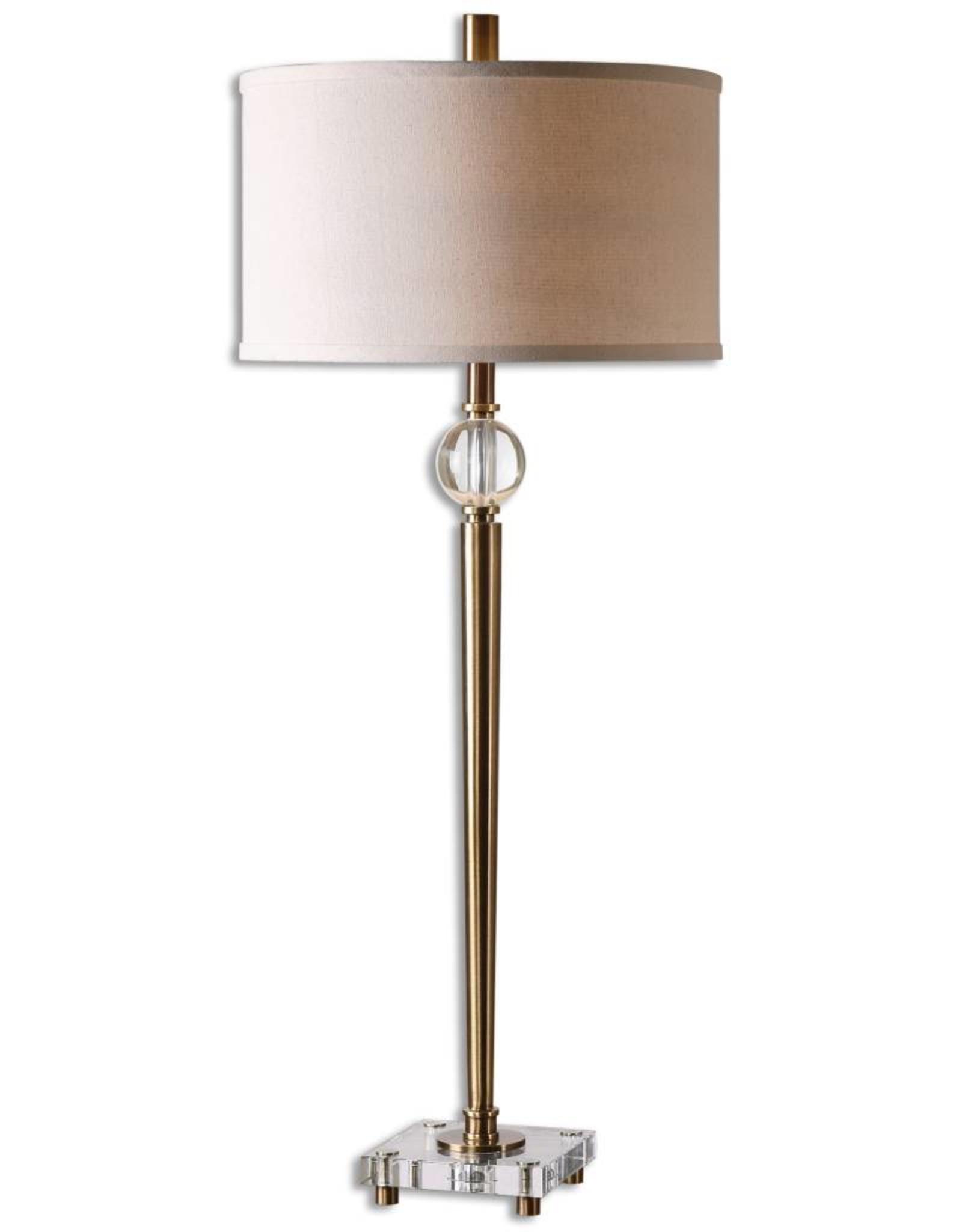 Mesita Brass Buffet Lamp