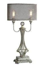 Pauline Aged Ivory Lamp