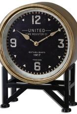 Hugo Table Clock