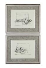 Stowaway Dog Prints - Set of 2