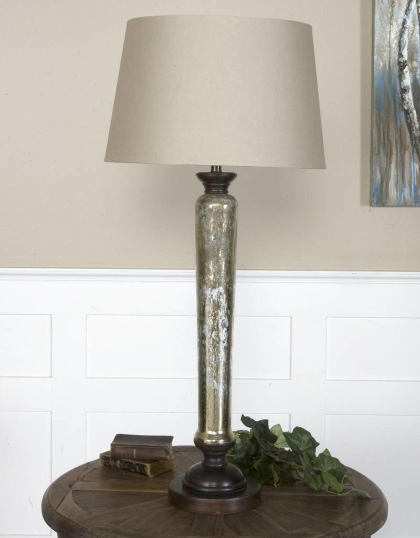 Cassini Mercury Glass Buffet Lamp