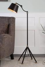 Marias Black Metal Floor Lamp