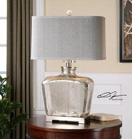 Molinara Mercury Glass Table Lamp