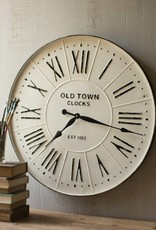 Enameled Wall Clock