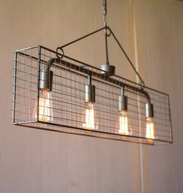 Mesh Horizontal Pendant Light