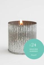 No 24 10 oz Seaside Garden Industrial Fill Candle