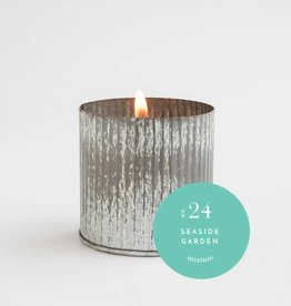 No 24 Seaside Garden Industrial Fill Candle