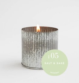 No 5 Salt and Sage Industrial Fill Candle