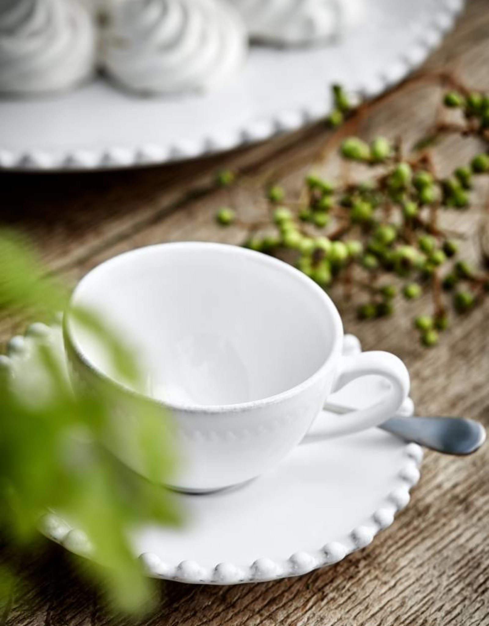 Pearl Tea Cup & Saucer