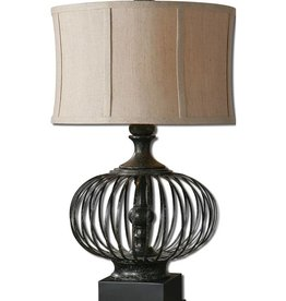 Lipioni Rustic Black Lamp