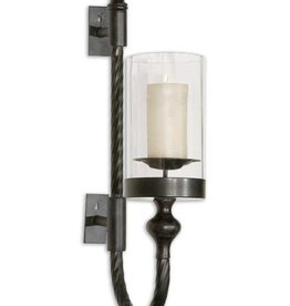 Laurent Twist Metal Sconce