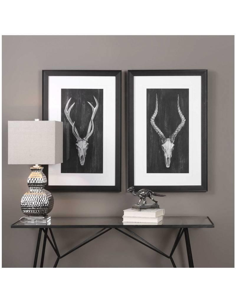 European Mount Prints (Set of 2)