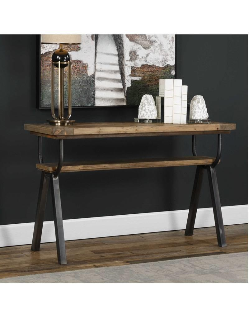Domini Industrial Console Table