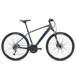 Giant Roam 2 Disc M Satin Grey/Yellow/Blue