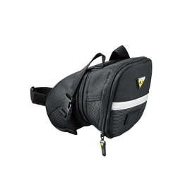 Topeak TPK Aero Wedge Pack w/ Velcro Strap Medium Black