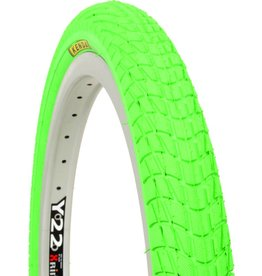 Kenda TIRE 20X1.95 K KONTACT GR SOLID HOT GREEN K-841