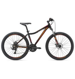 Liv Bliss 27.5 2 S Satin Black/Ruby Red/Orange