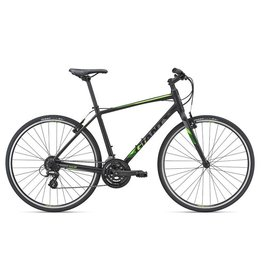 Giant Escape 2 L Matte Black/Neon Green