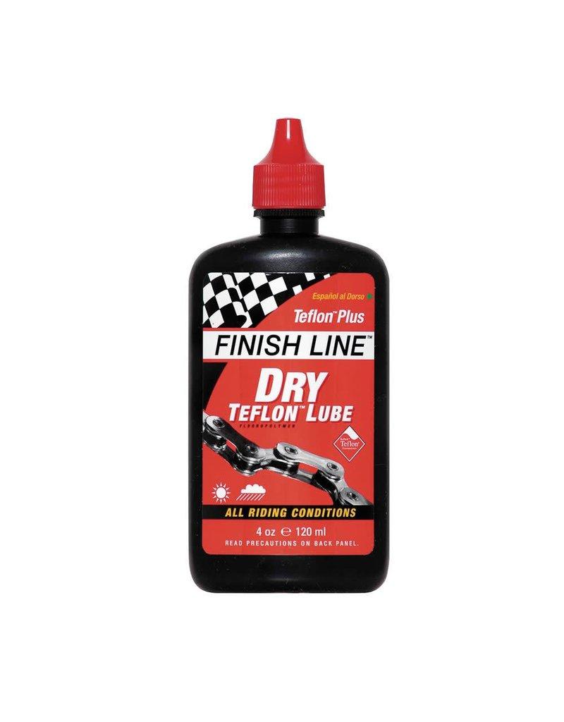 Finish Line FL Dry Teflon Chain Lube 4oz Squeeze Bottle