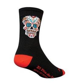 """SOCKGUY SOCK GUY- EL DIA 6"""" CREW sock SM/MD"""