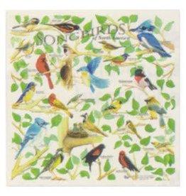 THE PRINTED IMAGE SONGBIRDS BANDANA