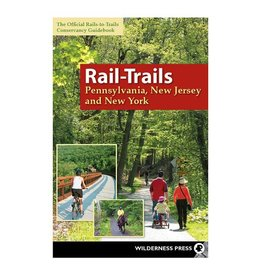 WILDERNESS PRESS RAIL-TRAILS PA/NJ/NY