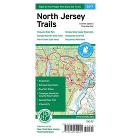 NY/NJ Trail Conference North Jersey Trails Map