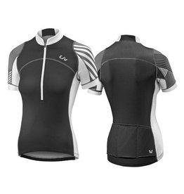 Liv LIV Aqua S/S Jersey XS Black/White