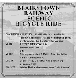 Blairstown Railway Scenic Bike Ride