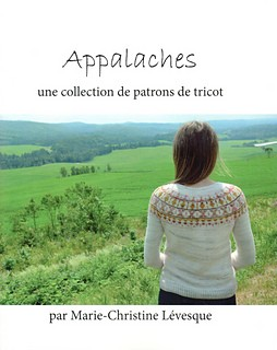 Marie-Christine Lévesque Appalaches, une collection de patrons de tricot