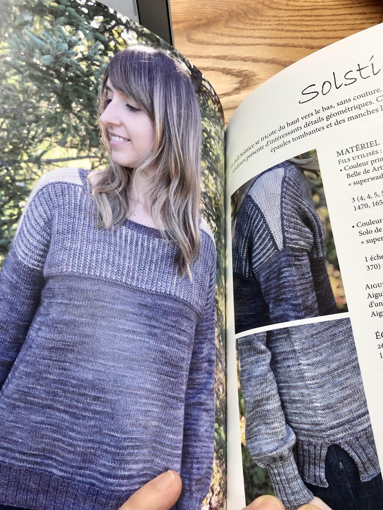 Foret Boréale, une collection de patrons de tricot