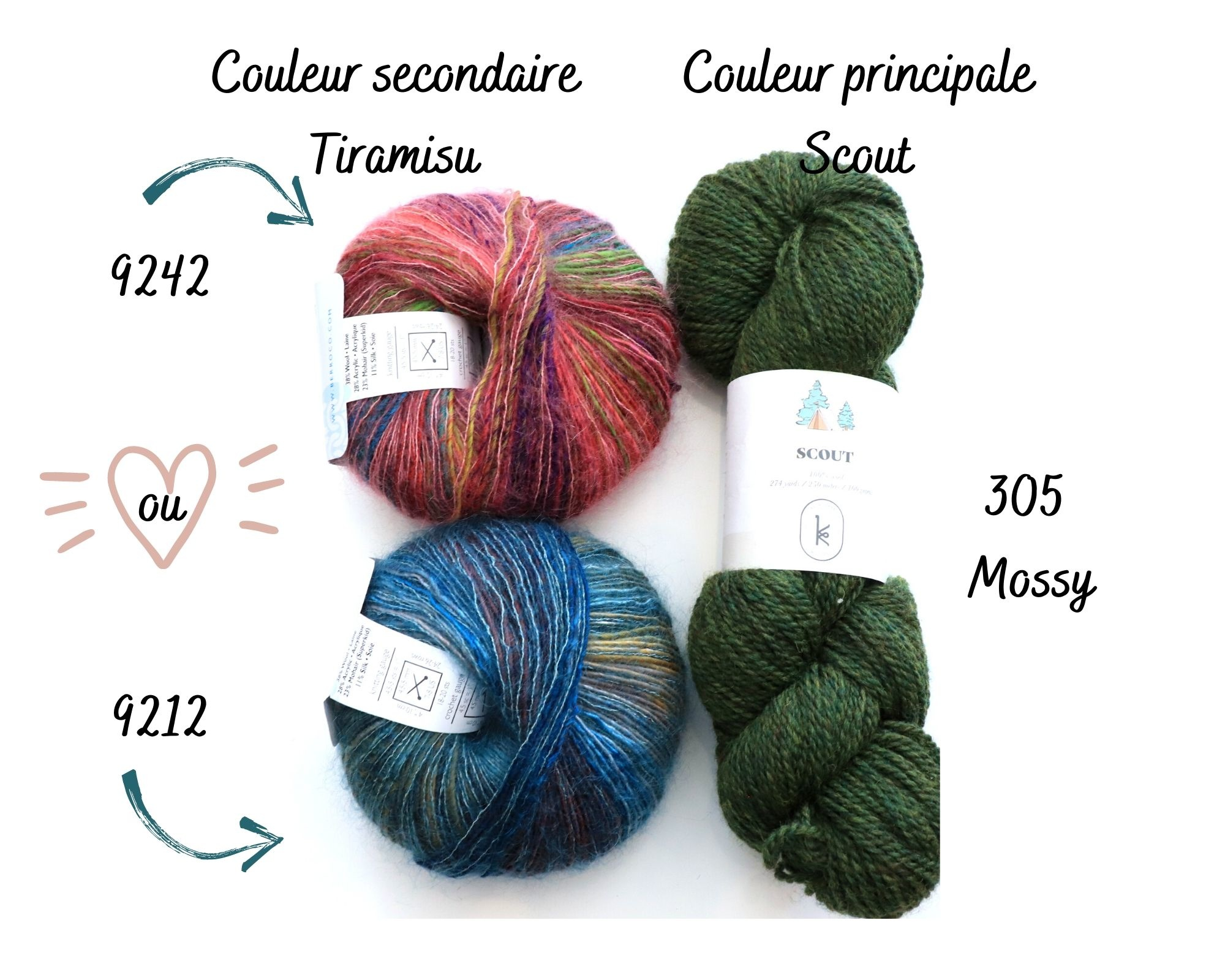 Tricote ton Spark de Andrea Mowry