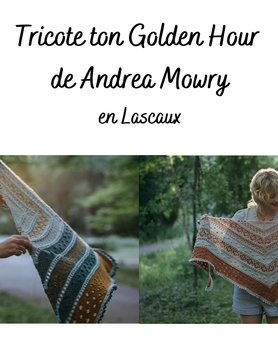 Tricote ton Golden Hour Lascaux