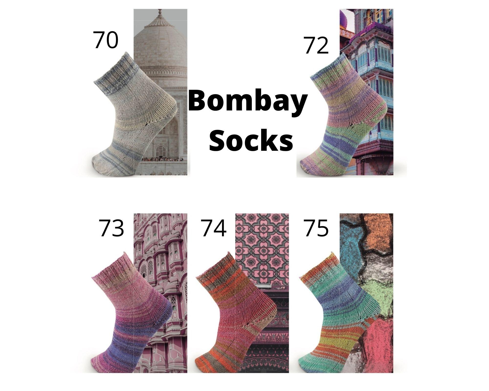 Katia Bombay Socks II