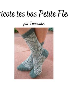 Tricote tes bas Petite fleur