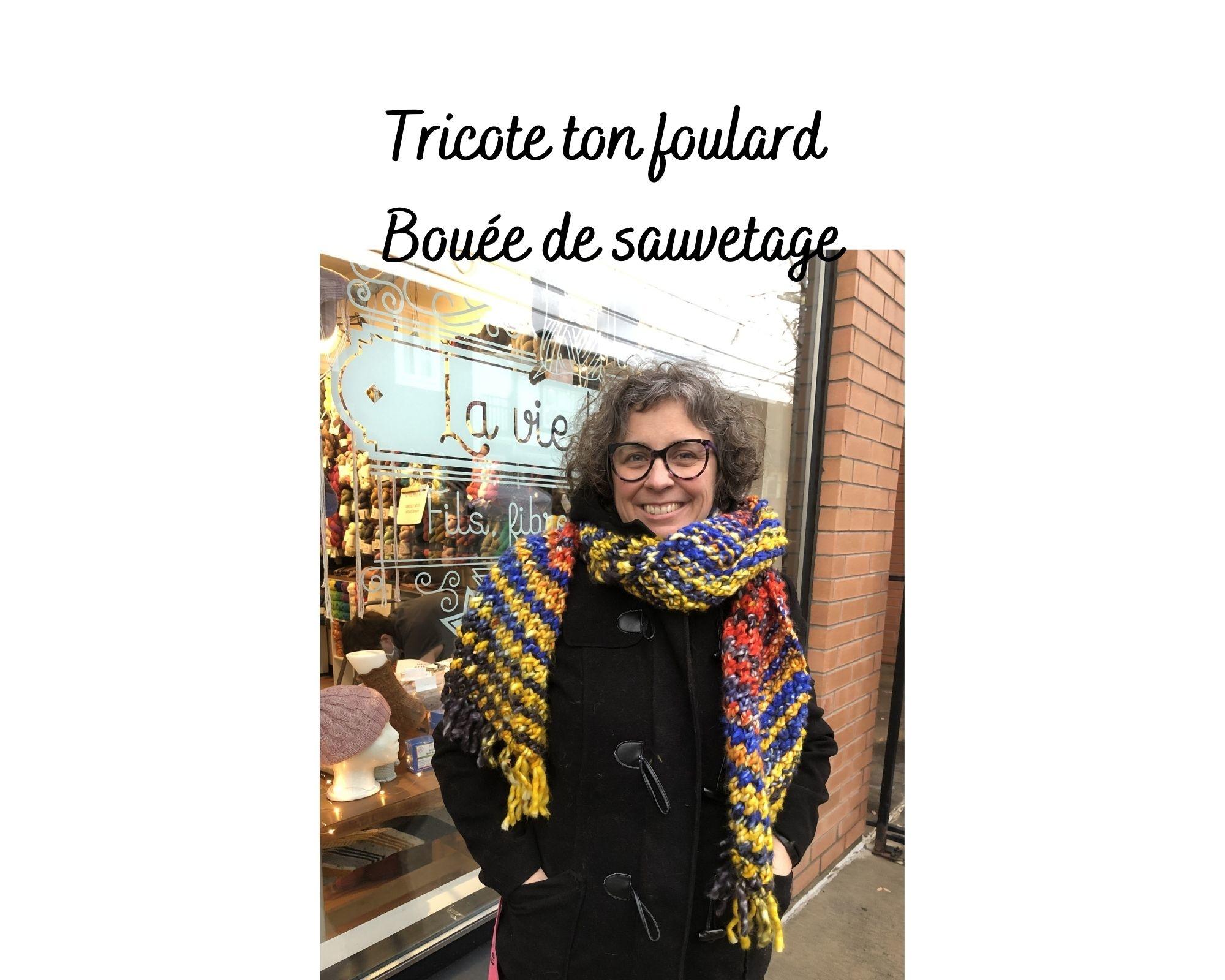 Urth Kit Tricote ton foulard Bouée de sauvetage