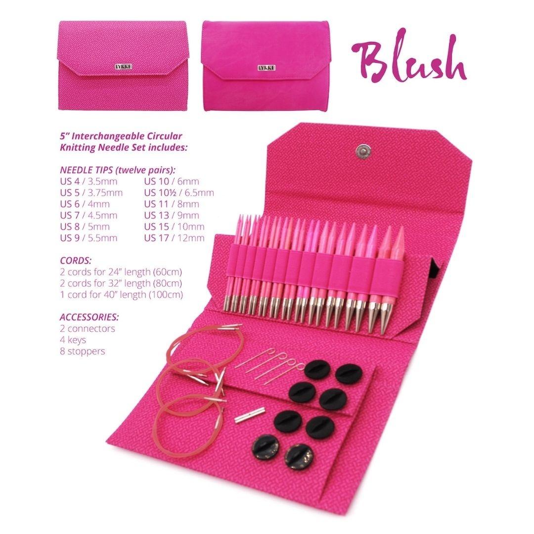Lykke Lykke kit d'aiguilles interchangeables Blush