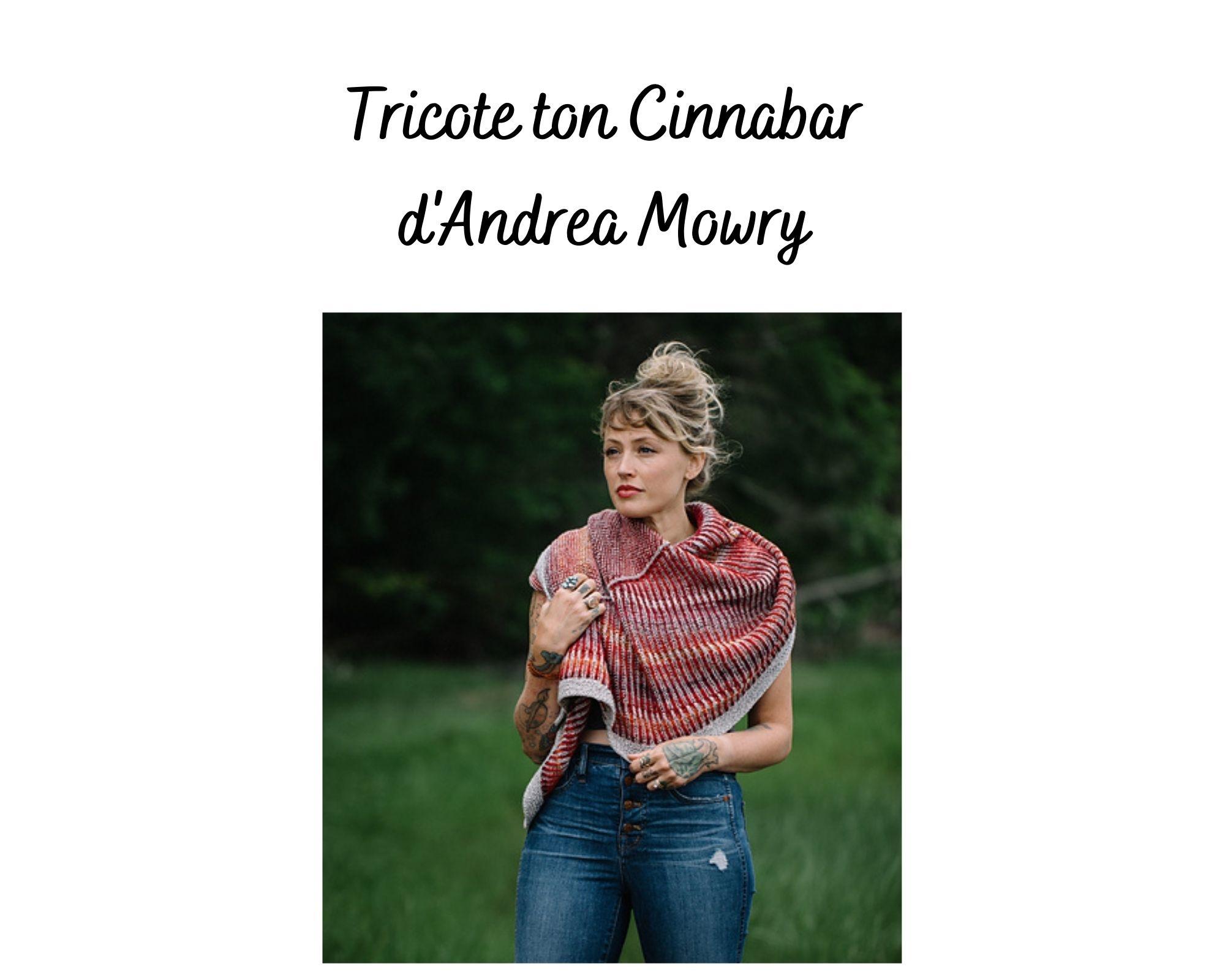 Tricote ton Cinnabar d'Andrea Mowry