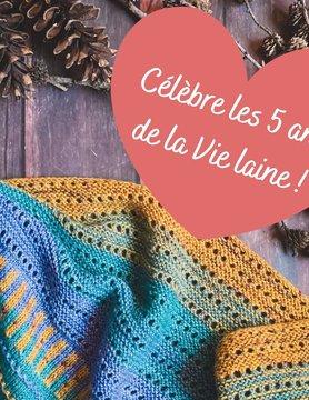 Kit anniversaire de La vie laine