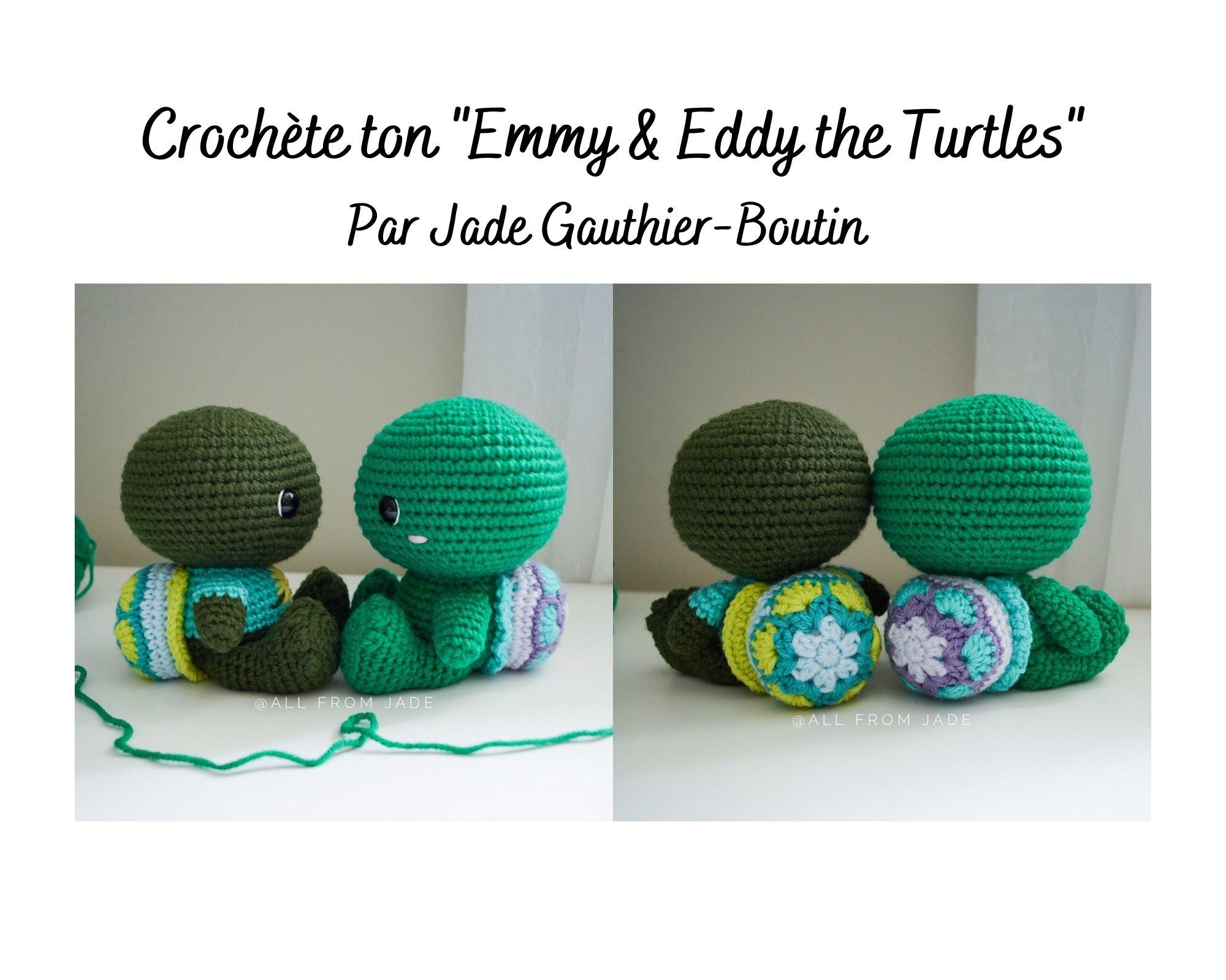 Crochète ta tortue !