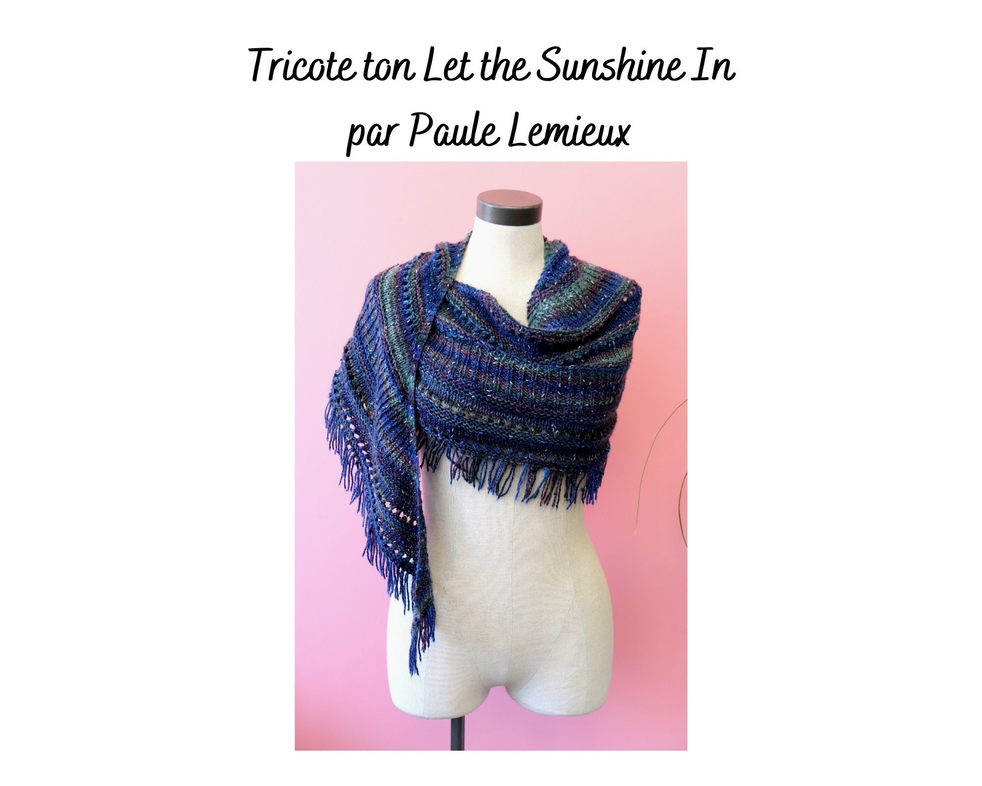 Tricote ton Let the Sunshine in