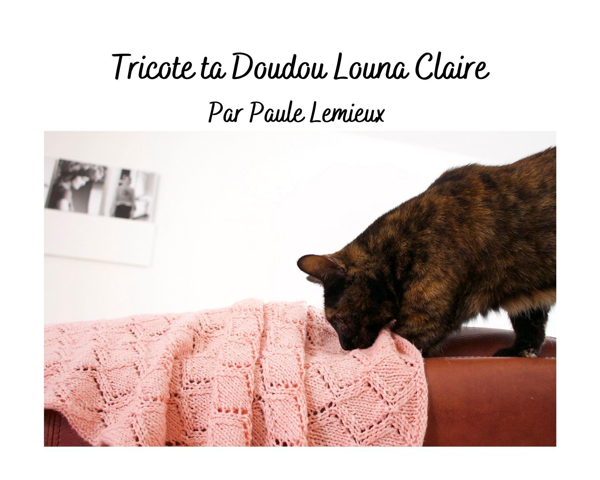 Tricote ta doudou Louna-Claire