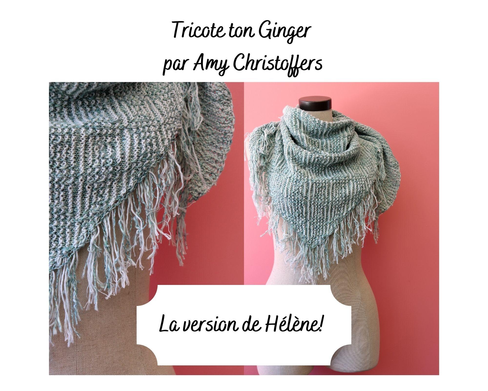 Tricote ton Ginger comme celui d'Hélène