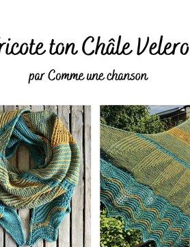Tricote ton Châle Velero de Comme une chanson