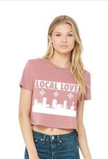 Liv+Work Liv+Work Local Love: Rose Crop Tee