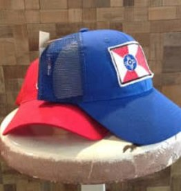 Aidee Gandarilla Wichita Flag Relaxed Baseball Cap