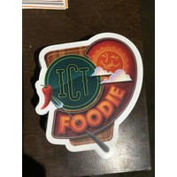 ICT Foodie Decal