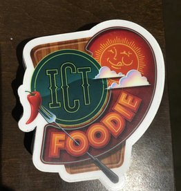 Jason Villanueva ICT Foodie Decal