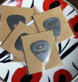 ICT Keepers Stainless Steel Guitar Pick